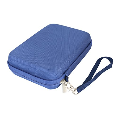 Hard Travel Case for Sony ZX Series MDR-ZX310AP Headband Stereo Headset by co2CREA (Blue)