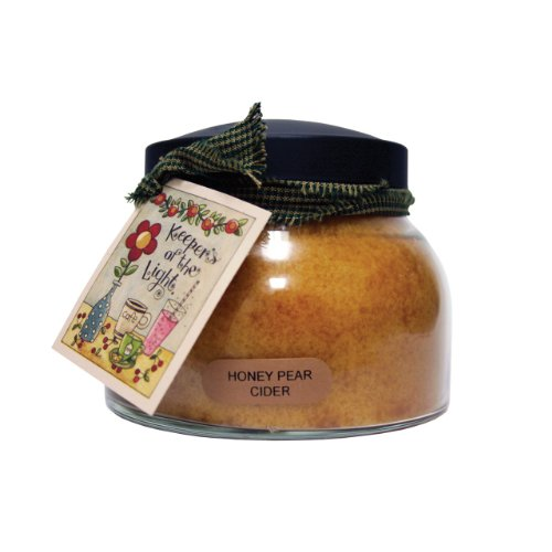 A Cheerful Giver Honey Pear Cider Mama Jar Candle, (Honey Pear)