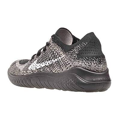 Nike WMNS Free Rn Flyknit 2020 Womens Bq8449-200 Size 8.5, Black | Road Running