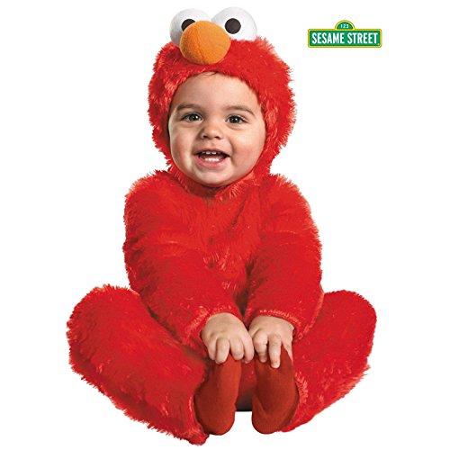 Halloween Tv Costumes Easy (Elmo Comfy Fur Costume - Medium)