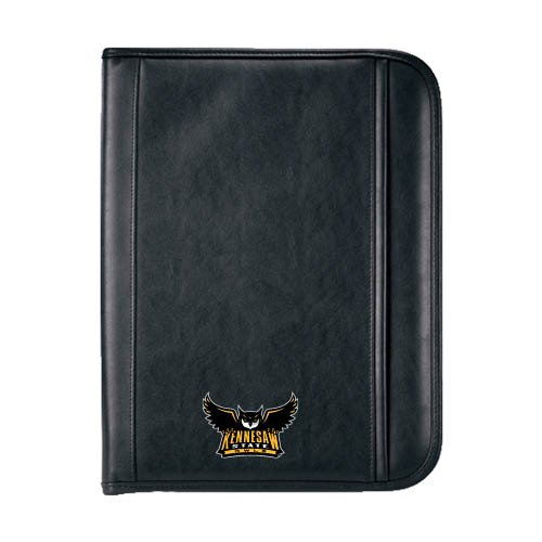 Kennesaw Insight Black Calculator Padfolio 'Official Kennesaw State Owls Logo'