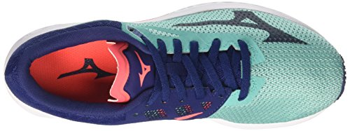 Chaussures Sonic turquoise Multicolore 17 Wave Running bluedepths Mizuno Violet Femme Wos De fierycoral w1tqqT5