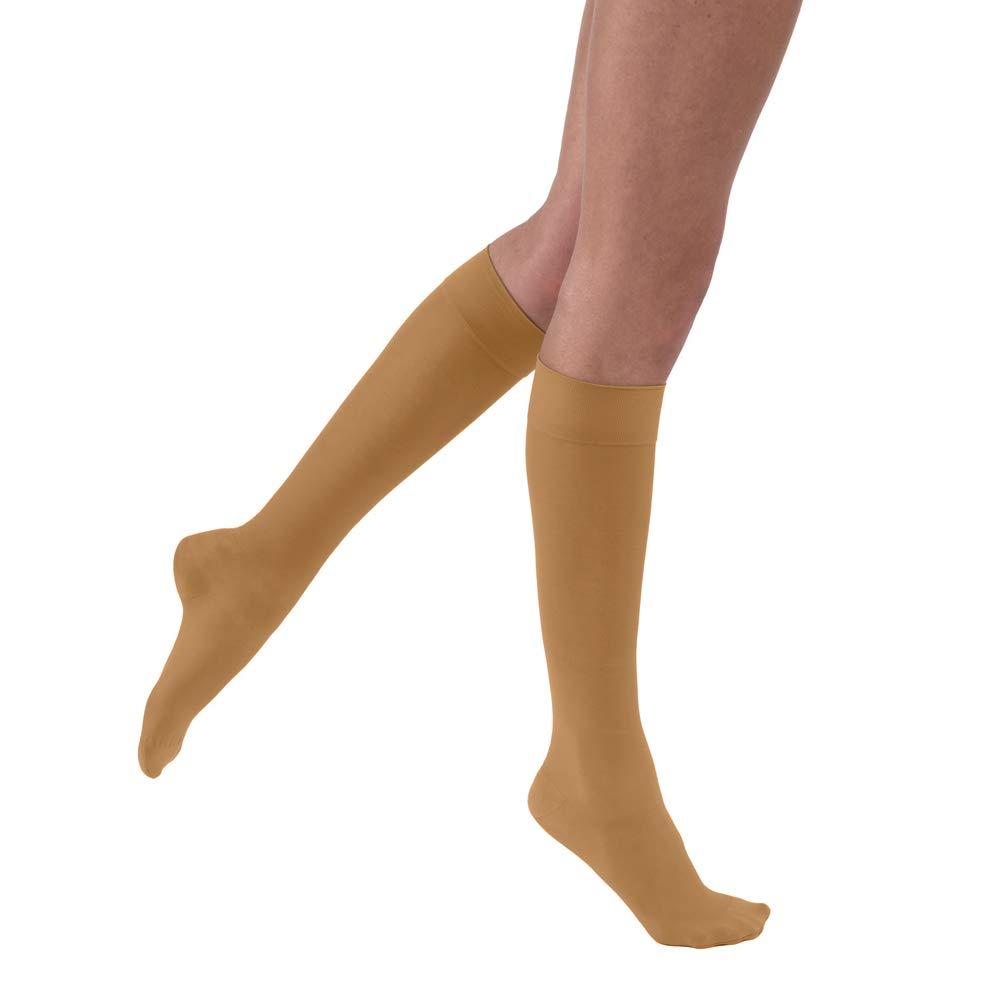 Jobst 121493 Ultrasheer Knee Highs 30-40 mmHg - Size & Color- Suntan X-Large B0009NEW1G