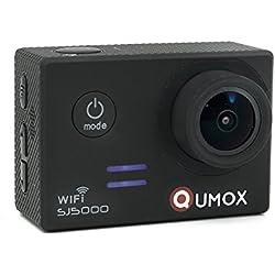 QUMOX SJ5000, WiFi Action Sport camera, black, - Camera Waterproof, Full HD, 1080p Video, Helmcamera
