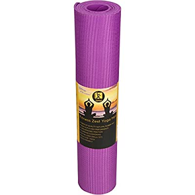 Premium Quality Non-Slip Open-Cell Natural Rubber Yoga Mat ✮ Unbelievable Grip Also When Wet! ✮ Extremely Comfortable ✮ Extra Long & 5mm Thick ✮ Durable, Non-Toxic & Eco Friendly ✮ Ideal for Any Type of Yoga (including Hot & Bikram) or Pilates