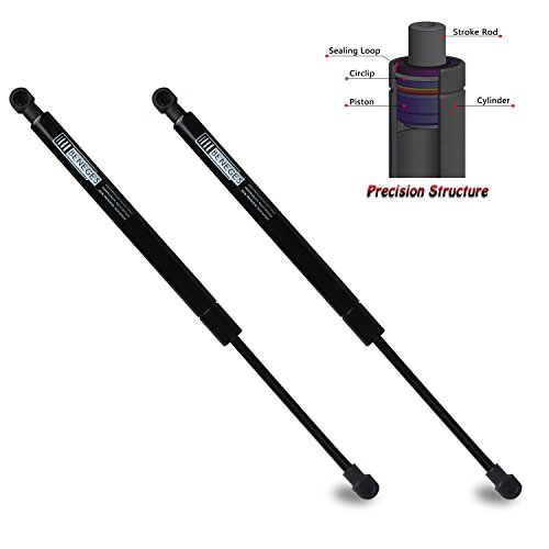 Beneges 2PCs Front Hood Struts Compatible with 2003-2013 Land Rover LR3, 2009-2013 Land Rover LR4, 2003-2013 Land Rover Range Rover Sport Lift Supports Shocks Dampers Gas Spring 6358, SG387004 ()