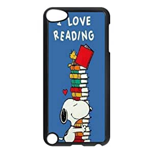 Snoopy Hard Case Cover Skin Phone Case FOR Ipod Touch 5 TPUKO-Q-9A9903906
