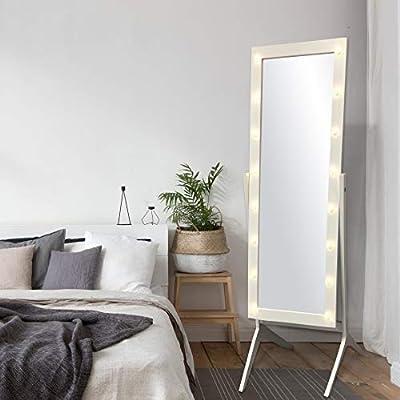 Amazon.com: eHomeProducts - Espejo de madera para dormitorio ...
