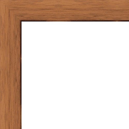 11x17 Flat Walnut Brown Wood Frame -