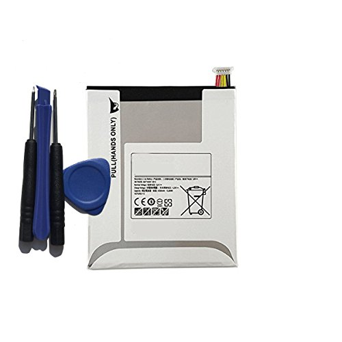 aowe Replacement for Samsung Tablet Battery EB-BT355ABE EBB5355ABE for Galaxy Tab A 8.0, GALAXY TAB A 8.0 LTE, GALAXY TAB A 8.0 WIFI,SM-T350,SM-T355,SM-T355C 4200Mah with tools by aowe (Image #1)