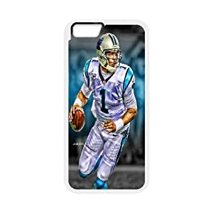High Quality Phone Case For Apple Iphone 6 Plus 5.5 inch screen Cases -The NFL stars Cam Newton from Carolina Panthers team custom design case cover -LiuWeiTing Store Case 20