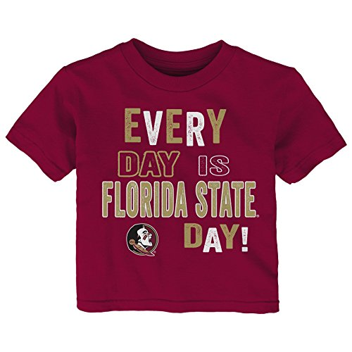 NCAA Florida State Seminoles Infant Everyday Short Sleeve Tee, 24 Months, Garnet by Gen 2