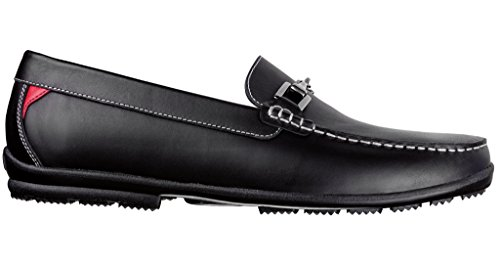 FootJoy Men's Club Casuals Leather Loafers 79015 - Previous Season Shoe Style (Golf Loafers)