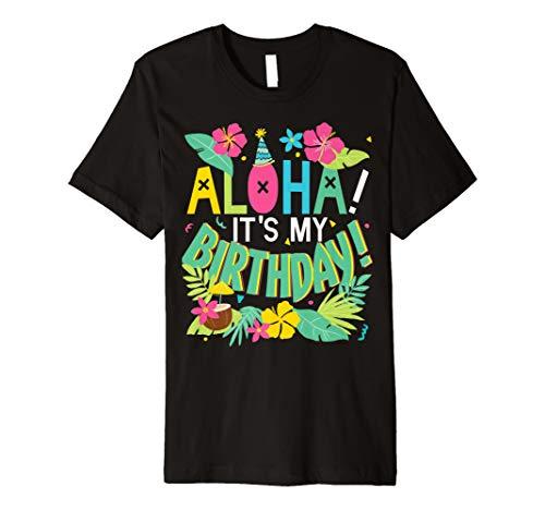 Funny Hawaii Birthday Party Aloha Hawaiian T-shirt Gift]()