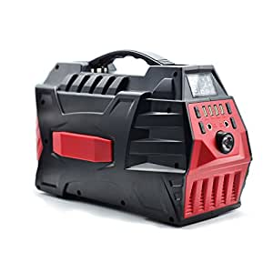 Portable Generator ATTER | Power Inverter Battery 350Wh 94594mAh 500W Camping CPAP Emergency Home Use UPS Power Source Charged by Solar Panel/ Wall Outlet/ Car with 110V AC Outlet 2 DC 12V 4 USB ports