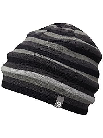 Mountain Hardwear Unisex Stripes Reversible Dome Hat, Black, Regular