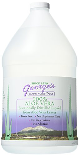 George's Aloe Vera Supplement, 128 Fluid Ounce (Syrup Aloe Vera)