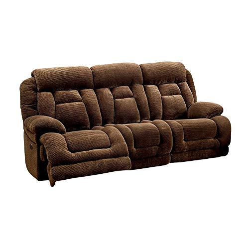 Furniture of America FA-CM6010SF-PM Sofa, Brown -  CM6010SFPM