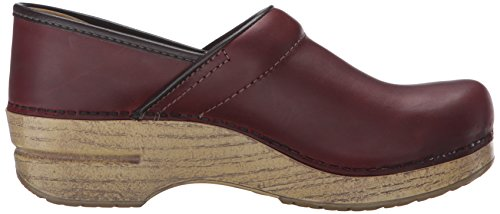 Clog Dansko Red Professional Oiled Women's f7pzq7