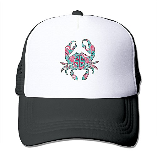 crab-on-a-sunrise-fashion-trucker-hats