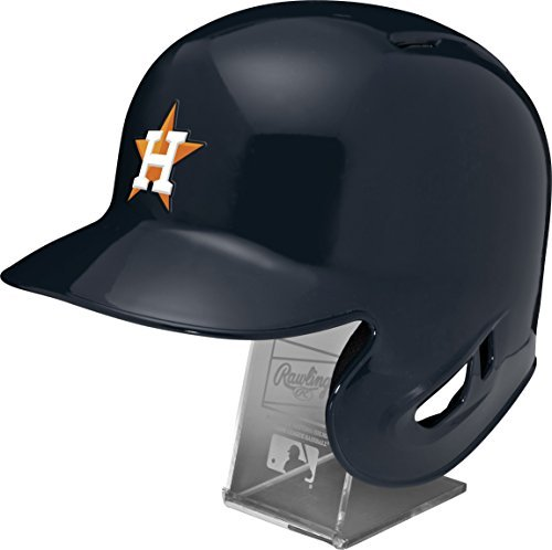 Jacket Astros Houston (Rawlings MLB Houston Astros Replica Batting Helmet with Engraved Stand, Official Size, Blue)