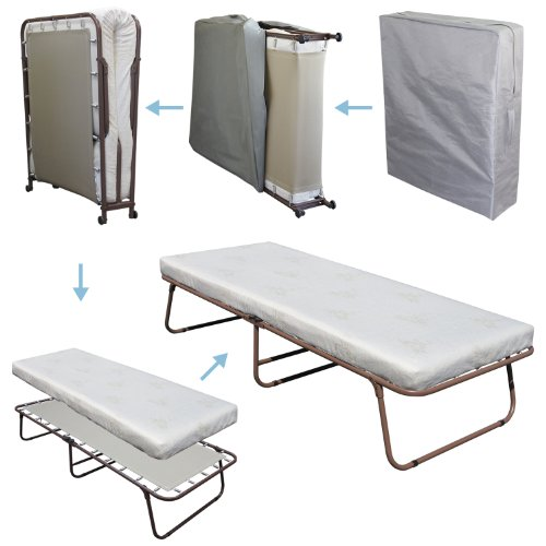 Best price mattress space saver rollaway guest bed deluxe homegoodsreview - Space saving guest beds ...