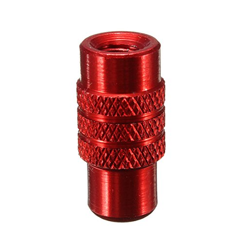 TOOGOO ( R ) 4 xアルミニウム自転車自転車ホイールタイヤバルブキャップFrench Presta陽極酸化Dust cover-golden
