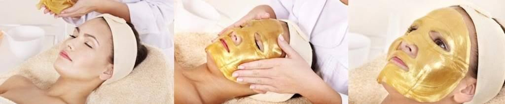6 XGold Bio-Collagen Facial Mask, Anti-Aging, Hydrating, Moisturizing Face Mask Let go 1