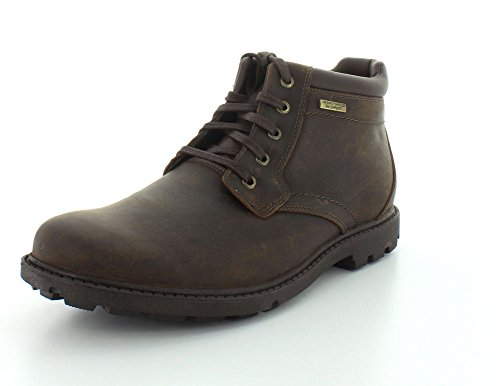 Rockport Mens Rugged Bucks Waterproof Crazyhorse Winter Boot - 12 - Rockport For Men Boots Winter