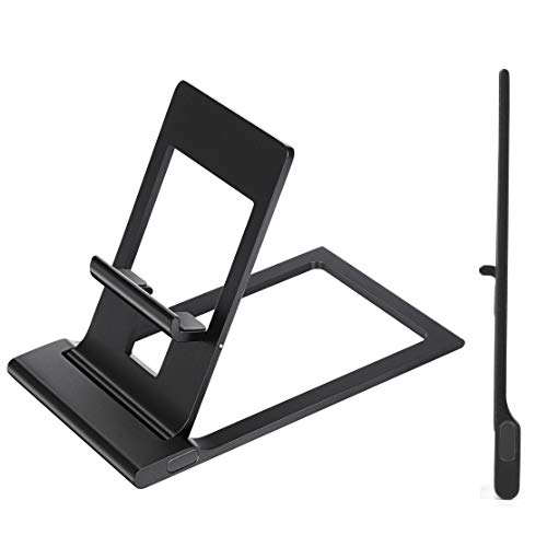 Readaeer Ultrathin Phone Holder Foldable Adjustable Cell Pho