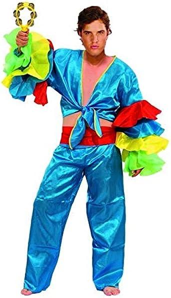 Disfraz de Rumbero Azul - Hombre, L: Amazon.es: Ropa y accesorios