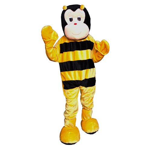 Bumble Bee Mascot Costume Set - Adult (one size fits most)