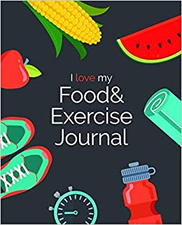 amazon i love my food and exercise journal food journals