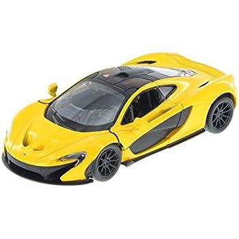 McLaren P1, Yellow   Kinsmart 5393D   1/36 Scale Diecast Model Toy Car