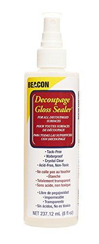 Beacon Adhesives Decoupage Gloss Sealer, 8-Ounce