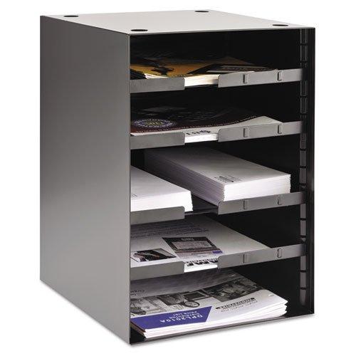 SteelMaster - Steel Desktop Sorter, Four Adjustable Shelves, 11 1/2