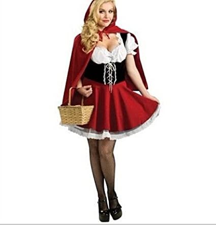 Gorgeous Disney Princesa Castillo de Caperucita Roja vestido ...