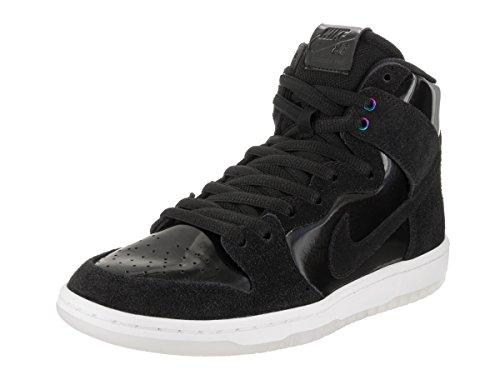 Nike Men's SB Zoom Dunk High Pro Black/Black White Clear Skate Shoe 6 Men US by Nike (Image #1)
