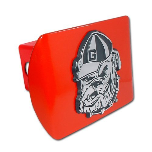 Georgia Bulldogs Trailer Hitch Cover (University of Georgia Bulldogs