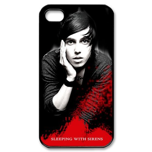 Fayruz- Sleeping With Sirens Protective Hard TPU Rubber Cover Case for iPhone 4 / 4S Phone Cases A-i4K206