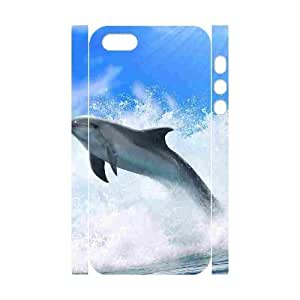 MEIMEIDolphin DIY 3D Cover Case for Iphone 5,5S,personalized phone case ygtg520147MEIMEI