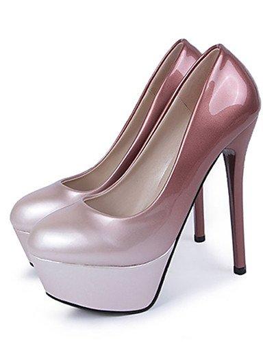 GGX/Damen Heels Frühjahr/Herbst Heels Patent Leder Party & Abend/Kleid Stiletto Heel andere andere burgundy-us7.5 / eu38 / uk5.5 / cn38