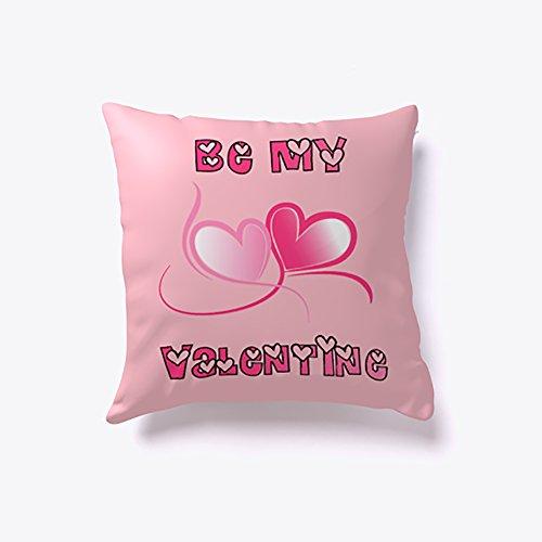 Be Mine Valentine Pillow, Valentine Gift, Couple Gift, 16x16 inch
