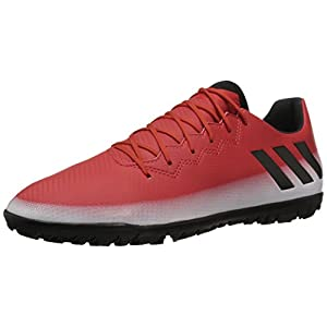 adidas Originals Men's Messi 16.3 Turf Soccer Shoe, Red/Black/White, (10 M US)
