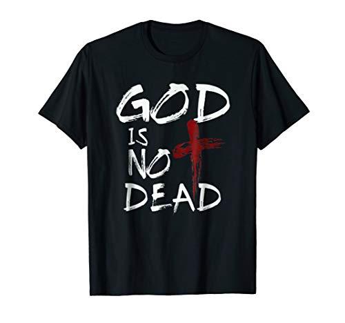 (God's Not Dead TShirt Gift Faith Catholic Christian T Shirts)