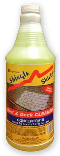 Shake Shingle Roof - Shingle Shield Roof and Deck Cleaner 1 Quart