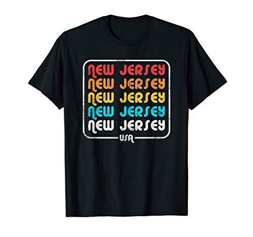 New Jersey Vintage 1970's 1980's Retro T-Shirt