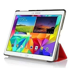 GX Tableta Samsung - Cobertor Posterior/Carcasas de Cuerpo Completo/Fundas con Soporte/Activación al abrir/Reposo al cerrar -Acabado Metálico/Diseño , Black