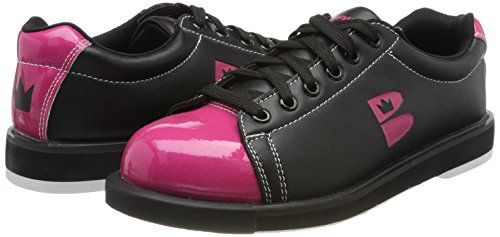 Zone Bowling T Chaussures rose De Noir Brunswick 1xqz5ZwBZ