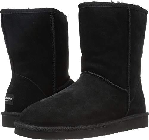 Koolaburra by UGG Women's koola Short Fashion Boot, Black, 07 M US (Boots Black Short Ugg Classic)